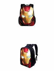 Рюкзак Железный человек, сумка с принтом Железного человека 43*30*15 см, фото 3