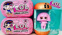 Кукла ЛОЛ LOL Surprise в капсуле L.O.L. Under Wraps большая 17 см