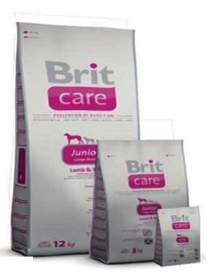 Brit Care Junior Large Breed Lamb & Rice 3 кг, Брит для щенков и юниоров крупных пород собак