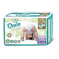 Подгузники памперсы дада Dada Extra Soft 4 Maxi (7-18 кг), 46 шт