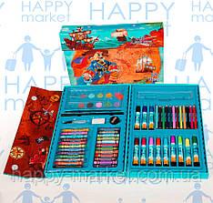 Набір для дитячої творчості Пірати (68 предметів) валіза