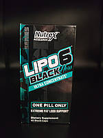 Lipo-6 Black Hers Ultra Concentrate Nutrex Research 60 caps. топ жиросжигатель США