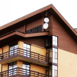 Фасады из древесно-полимерного композита