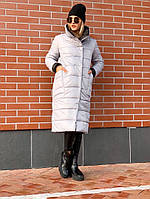Куртка-пальто женское демисезонное на холодную погоду