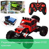 Радиоуправляемая машина Джип 0132 красная