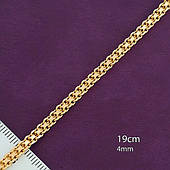 Браслет из медицинского золота Xuping, размер 19см*4мм
