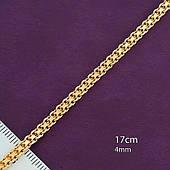 Браслет из медицинского золота Xuping, размер 17см*4мм