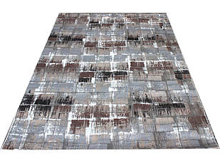 Коврик современный KALAHARI W7210 0,8Х1,5 Светло-бежевый прямоугольник