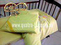 """Сменное постельное белье 3 в 1 """"Веселые жирафы"""" солнечно-желтое"""