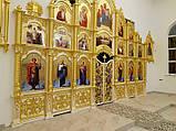 Резной Иконостас и киоты с золочением (Беларусь), фото 2