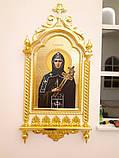 Резной Иконостас и киоты с золочением (Беларусь), фото 6