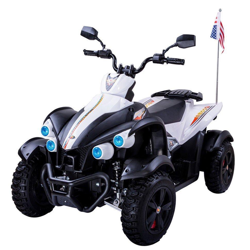 Детский электрический квадроцикл Dongma ATV DMD-268 белый