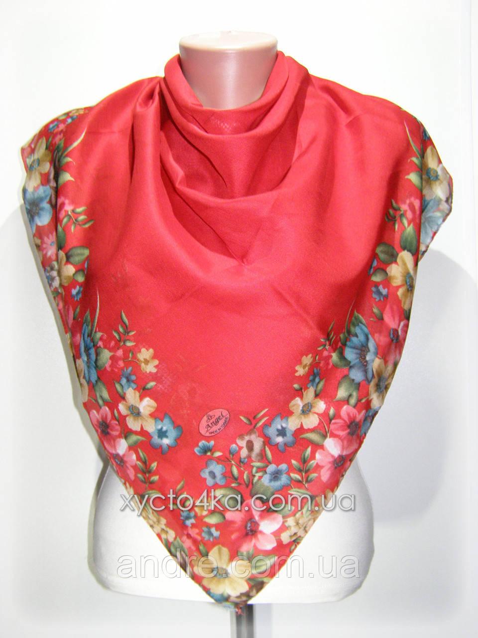 Лёгкие натуральные платки Биатрис, красный