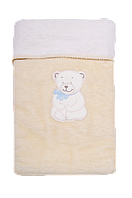 Одеяло плед с вышивкой двухстороннее для детей Womar 75 х 100 см 60*40