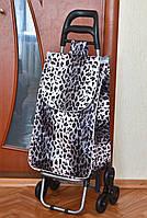 Хозяйственная сумка - тележка на 6-ти колесиках