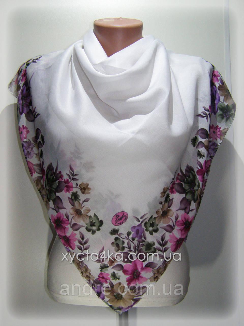 Лёгкие натуральные платки Биатрис, пудровый