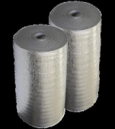 Полотно металізоване двостороннє товщ. 4 мм (1м*50м)