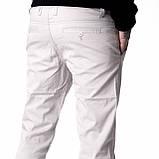 Демисезонные джинсы мужские Franco Benussi 16-094 бежевые, фото 8