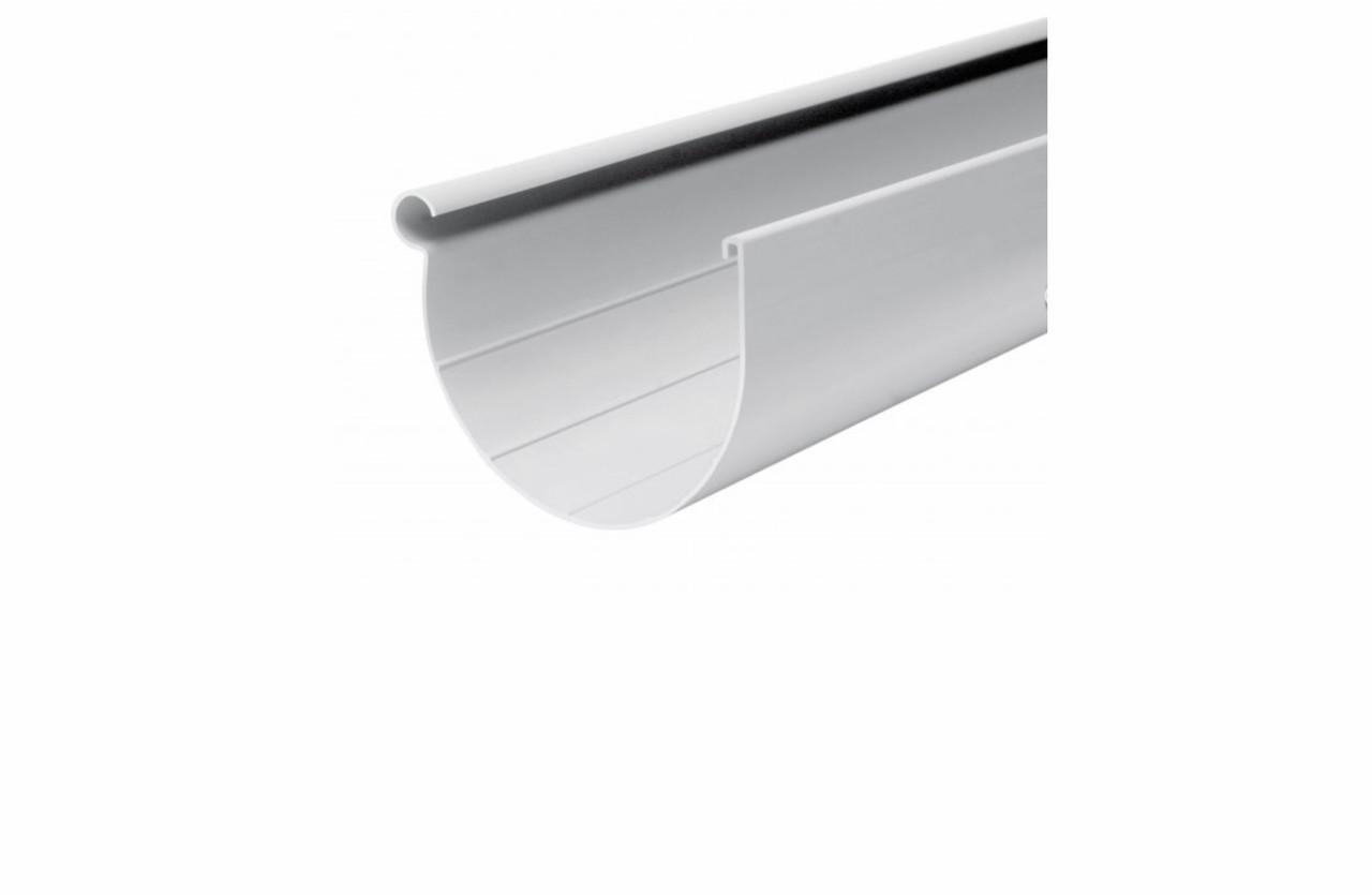 Жолоб пластиковий 3 м білий RainWay 130/100