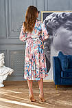 """Сногсшибательное платье отJadone Fashion """"Агата"""" шелковое с принтом (2 расцветки, р.S-XL), фото 8"""