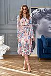 """Сногсшибательное платье отJadone Fashion """"Агата"""" шелковое с принтом (2 расцветки, р.S-XL), фото 7"""