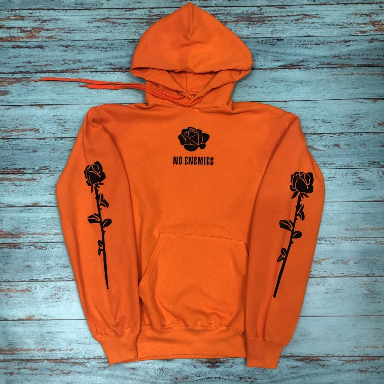 Худи A SHO No Enemies L оранжевый