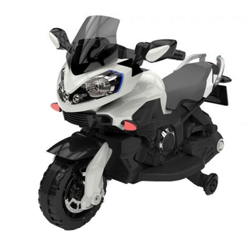 Детский мотоцикл BS 1188  белый