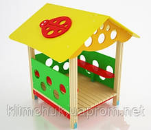 """Будиночок дитячий """"Сонечко"""" для дитячих ігрових майданчиків KidSport"""