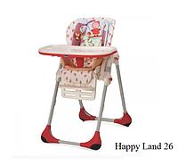 Стульчик для кормления Chicco Polly 2в1 Happy Land -26-18