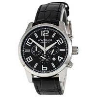 Montblanc TimeWalker Quartz Black-Silver-Black
