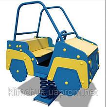 """Качалка на пружині """"Джип"""" (Гойдалка """"Джип"""") для дитячих ігрових майданчиків KidSport"""