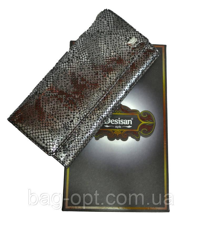 Женский кошелек из натуральной кожи Desisan (10x19.5x2.5 см)