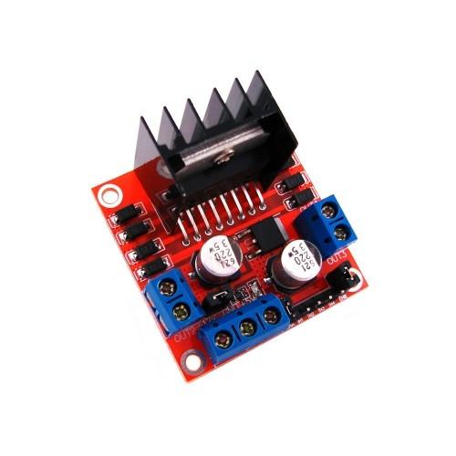 Драйвер двигателя 2-кан 5В H-мост L298N для Arduino