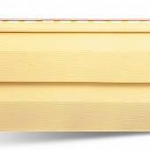 Сайдинг виниловый желтый 3660х230х1,2 мм, коллекция Престиж.