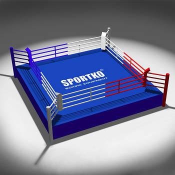 Ринг на помосте Sportko Профессиональный