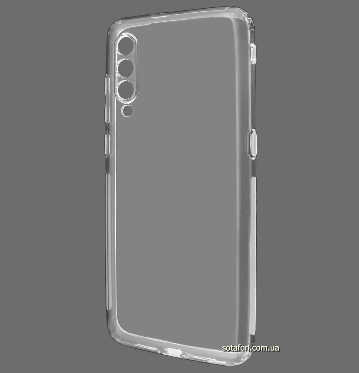 Силиконовый чехол KST Ultra-thin для Xiaomi Mi 9 Clean Grid Transparent