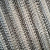 Нитяные шторы дождь радуга  ( белый+серебро  +  графит ), фото 1