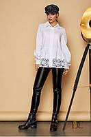Очаровательная женская блуза белая