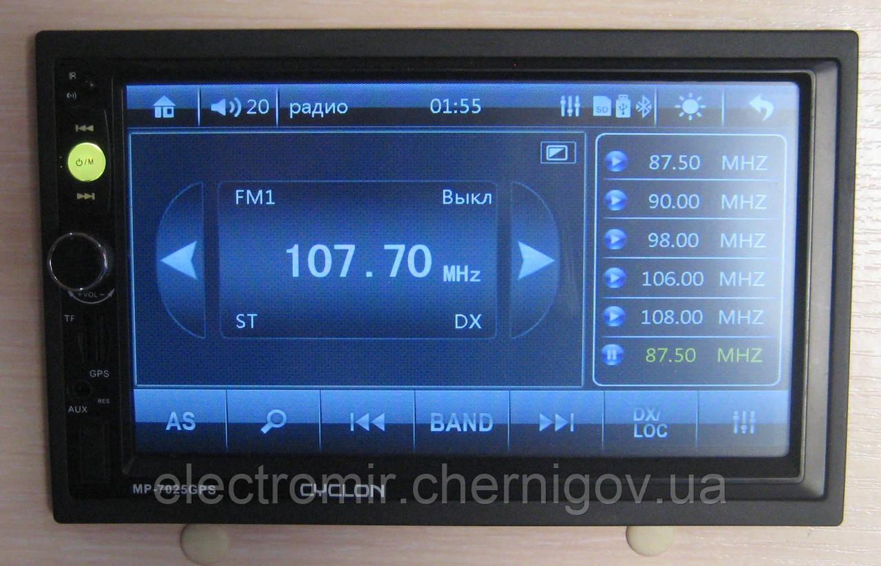 Автомагнитола Cyclon MP-7025 GPS (2 DIN)