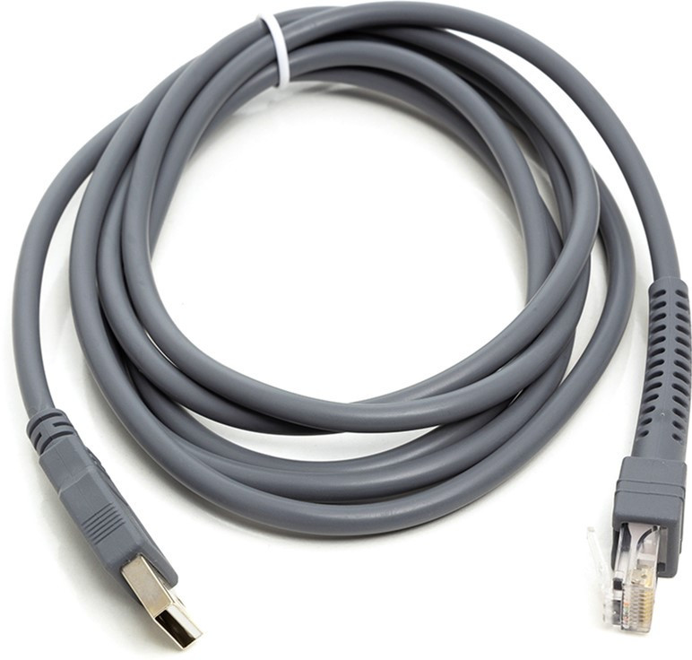 USB кабель для сканеров штрих-кода Motorola (Zebra/Symbol)