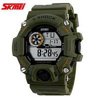 Часы военные Skmei 1019 Олива Хаки