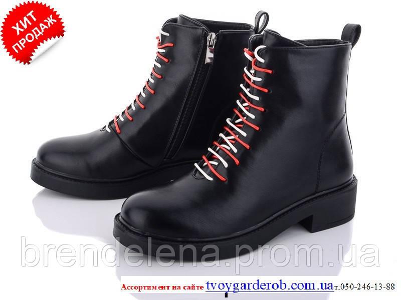 Женские ботинки деми кожзам р36-40(5030-00)