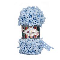Alize Puffy Fine, №218, светло-голубой