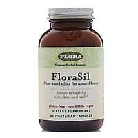 Ортокремниевая кислота (Orthosilicic Acid), Flora, 90 кап.