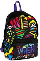 Разноцветный молодежный рюкзак Paso BDD-220 15 л