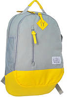 Молодежный рюкзак PASO 15-5139С серый 20 л