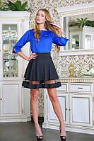 Комбинированный костюм МАРСЕЛЬ синий, фото 1