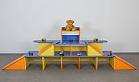 Игровая мебель для садика (паркинг для машин) Хит продаж