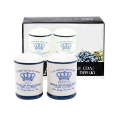 Набор для соли и перца 'Империя' 4,5 * 7 см