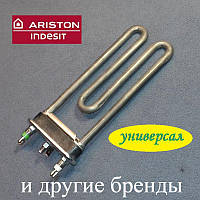 ТЕН 1700W / 170мм (є отвір / без бурту) для пральної машини Indesit і Ariston